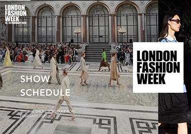 伦敦时装周(LondonFashionWeek)是在英国伦敦面向时尚买手、新闻媒体以及公众的国际时装周。今年2月份伦敦时装周已经落下帷幕,与往届的LFW相比,显然这一季的伦敦时装周要显得落寞了些。本季伦敦时装周提倡环保主义、无动物皮草类商品。由于受到疫情影响,中国媒体、买手、明星们被迫改变了工作计划,尽管 动荡不少,但回顾这一季的伦敦2020秋冬时装周,还是有很多精彩亮点值得关注。