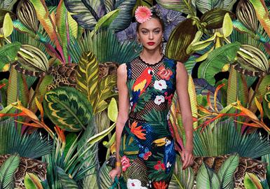 崇尚自然  敬畏野生生灵--女装图案趋势