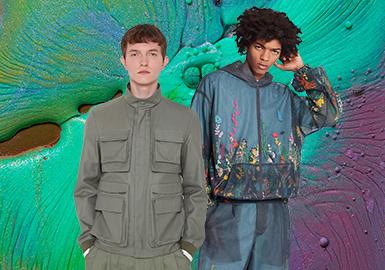 箱型风尚--男装夹克廓形趋势