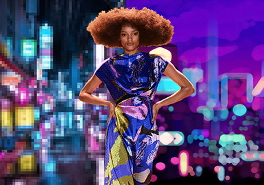 街机像素时代 —女装图案趋势
