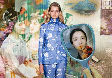 重塑中式美--女裝工藝細節趨勢