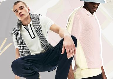 經典新生--男裝毛衫Polo衫廓形趨勢