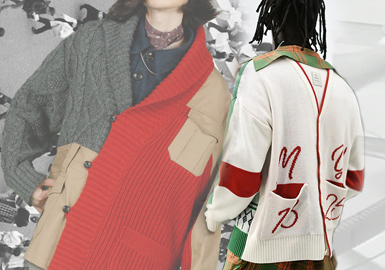 个性解构、暗黑系是日本设计师品牌最突出的两个风格,本文推荐Kolor、Maison Mihara Yasuhiro、Sacai三个解构风格设计师品牌,针对其毛衫款式进行分析,重点从异质拼接、领部设计、衣身分割以及撞色在解构设计的运用进行深度剖析。