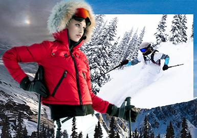 冰河世紀--男女裝滑雪服專題趨勢