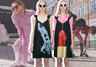 2003年,pushBUTTON以大胆的配色与剪裁、前卫又不失柔美性感的独特风格,迅即成为韩国时尚界最引人瞩目的品牌之一。作为多年来稳居韩国时尚界第一梯队的成熟品牌,格纹元素也是这一季主要元素之一,pushBUTTON将各种格纹元素混搭,搭配大胆、饱和的色调让人耳目一醒感觉。多元佳慧的设计融合男女性别的元素土坯性别的藩篱,展现大胆前卫又独特的风格,设计师对于时尚的想象以及服装上呈现的张力,是衣长非常疯狂令人值得玩味的系列。