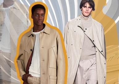 延續都市經典--男裝皮衣工藝趨勢