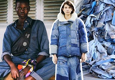 """""""循环时尚""""的目标是确保服装由安全且可再生的材料制成,并将旧衣服变成新衣服。 这种新的时尚经济将使商业,社会和环境受益。"""
