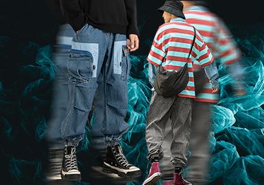 魅藍束腳--男裝褲裝廓形趨勢