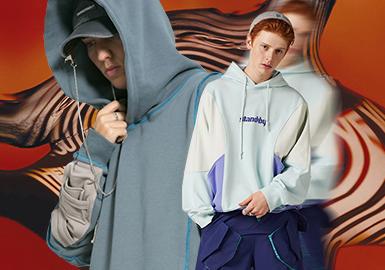 復興升級--男裝衛衣廓形趨勢