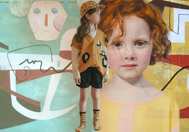 葱郁光芒里的春夏--童装主题企划