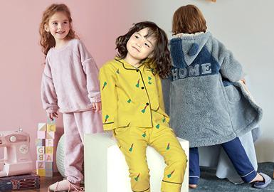 暖心治愈--童裝家居服色彩趨勢