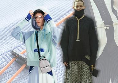 率性裝飾風潮--女裝毛衫輔料趨勢