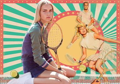 """触""""网""""情深--女装运动网球主题企划"""