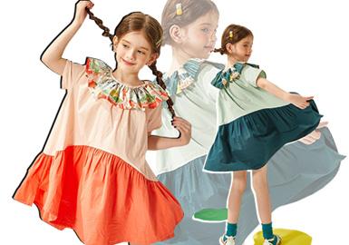 日系风的中国设计师品牌Viciusss,坚持自由童趣、不拘一格的创作态度,为3-8岁的孩子打造独特且与日常生活完美融合的时尚路线。在2020春夏Viciusss以向日黄、阳光橙、森系绿等色彩融合款式设计,为孩子带来活力。让整个世界充满欢声笑语。