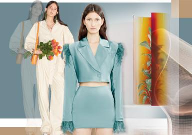 生活模式圈--女裝套裝廓形趨勢