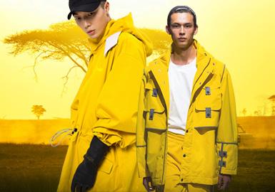 日光黃--男裝主題色彩趨勢