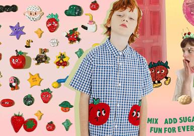 果趣多多--童装图案工艺趋势