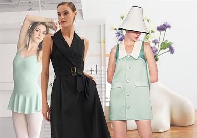 優雅的現代美學--女裝連衣裙廓形趨勢
