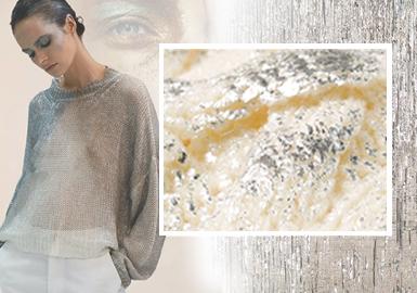 鎏金--女裝毛衫工藝趨勢