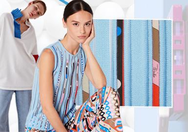 奇趣點綴--女裝毛衫工藝趨勢