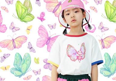 翩翩仙子--童装图案趋势