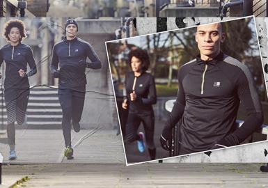 靈魂奔跑--男女裝運動跑步服專題趨勢