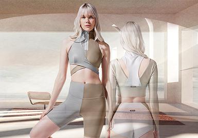 現代冥想--女裝瑜伽服專題趨勢