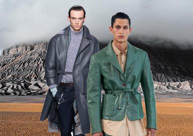 都市流浪者--男裝皮衣廓形趨勢