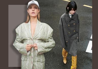 休閑風貌--女裝大衣廓形趨勢