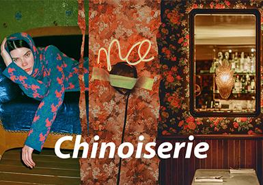 Chinoiserie--21/22秋冬主題趨勢