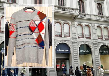受新冠疫情影响,对于欧美国家的市场了解受到了极大限制,甚至一些毛衫品牌出现破产或歇业情况,而意大利作为新冠重灾国家之一,零售市场的讯息来源也受到很大影响,在此情况下带来这篇对于佛罗伦萨零售市场最新毛衫动向分析。精细的工艺和鲜亮的颜色是佛罗伦萨的特色,本文将从针法、图案、工艺等维度展开深度剖析。