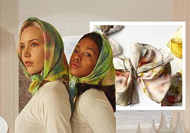 親近自然系--女裝服飾品工藝趨勢
