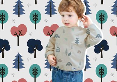 北欧森林--婴幼童图案趋势