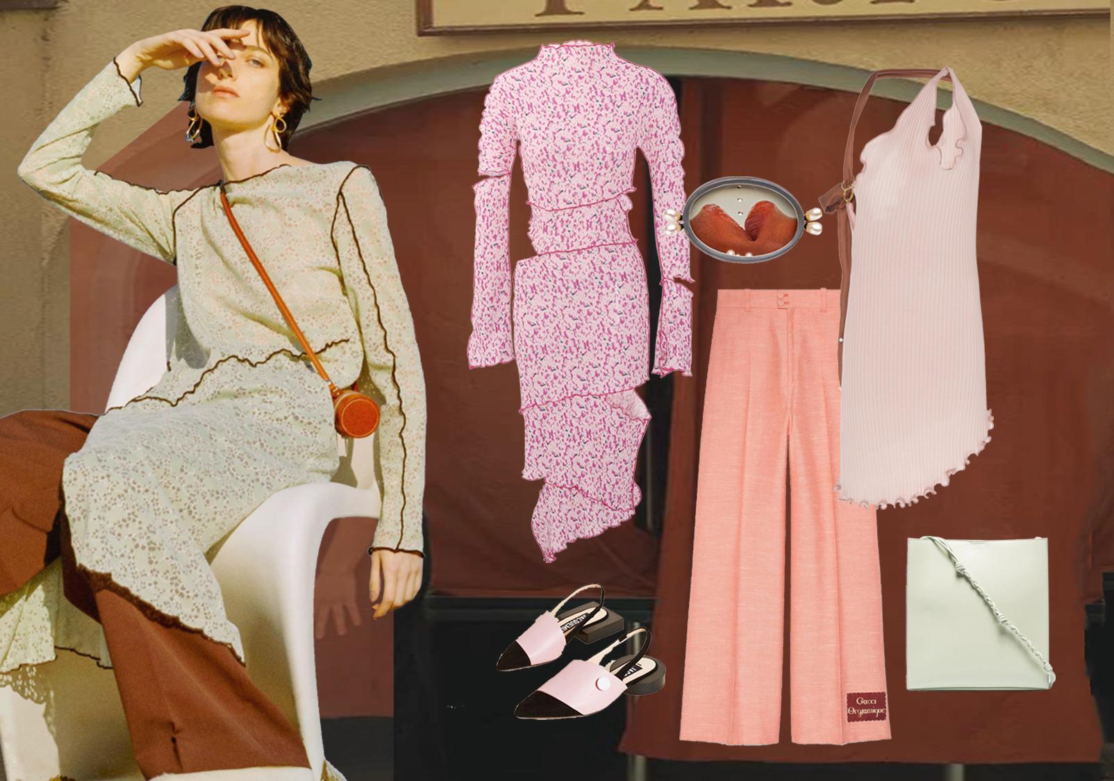 优雅穿搭--女装中大淑风格组货搭配