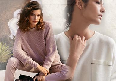意大利和英国是羊绒品牌比较集中的两个国家,意大利的羊绒品牌相对历史悠久,更加注重羊绒品质和传统工匠技艺;而英国的羊绒品牌则更现代,且具有明显的民俗感受。本篇报告从中选取Brunello Cucinelli、Malo、Iris Von Arnim这三个意大利制造的羊绒代表品牌作重点分析。意式制造更加注重打造最自然、最耐穿、最舒适的高品质羊绒,简洁的细节点缀和针法变化是关键设计点,同时将可持续理念贯穿其中,带来极具工匠意识的羊绒单品。