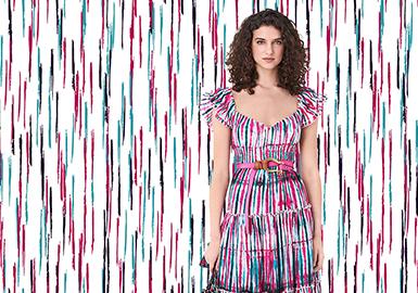 点线艺术--女装图案趋势