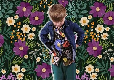 暗夜花园--童装图案趋势
