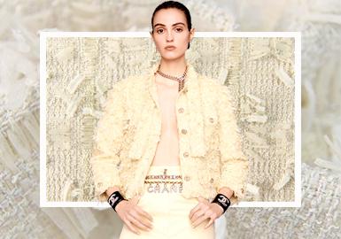 穿越时光/时髦永恒--女装粗花呢面料趋势