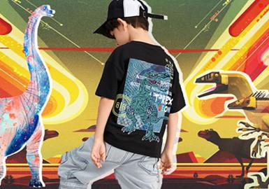 恐龙世代--童装图案趋势