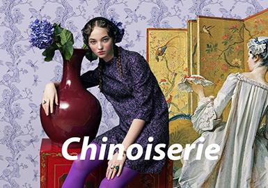 Chinoiserie--21/22秋冬主题图案趋势