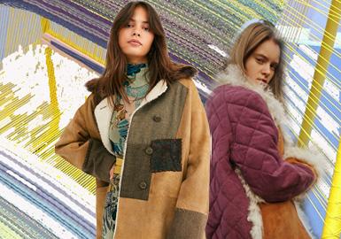 異質拼接--女裝皮衣皮草工藝趨勢
