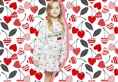 樱桃的滋味--童装图案趋势