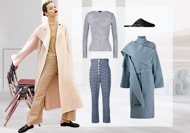 时代碰撞丨新式怀旧--女装毛衫与大衣组货搭配
