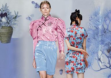 佳節華服--女裝中國風廓形趨勢