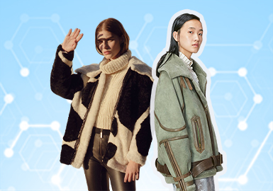根据POP 八月用户下载量TOP100女装皮衣皮草数据分析,简欧中淑仍占比较多,但与上月相比有所下降,运动休闲和俄罗斯风格有所提升。夹克仍是主要单品,其次是风衣和大衣,棉服、羽绒服较少。品类皮衣仍占主导地位,裘皮类这个月有所上升。