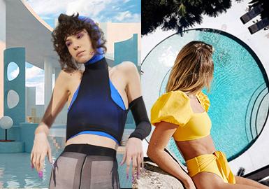 時尚|多功能--女裝泳裝廓形趨勢