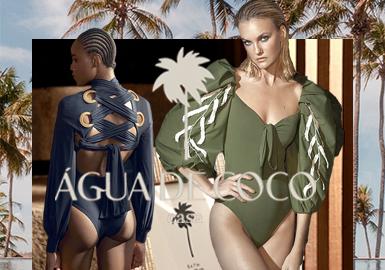 Agua De Coco是设计师Liana Tomaz于1985年用一台机器、一名裁缝师、明确的目标创建的沙滩装品牌,该品牌立足于目标受众的满意度、质量和舒适度高的要求,并且在国际市场上获得了成功和认可,在时尚界占有一席之地。设计师Liana Thomaz加入了ABEST(巴西风格师协会),该协会旨在加强和促进全国时装设计行业,通过分享相同的概念,从而增加了另一个目标,进一步巩固该品牌在细分市场中的重要性和代表性。