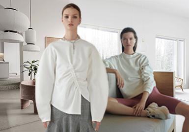舒适日常--女装卫衣针织面料趋势