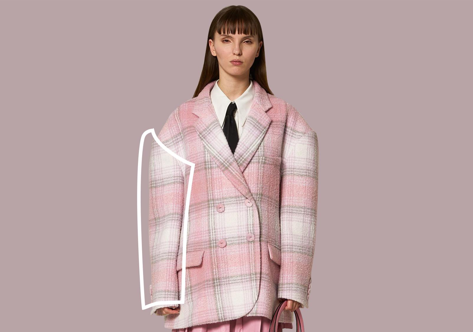 量感袖型--女裝大衣廓形趨勢