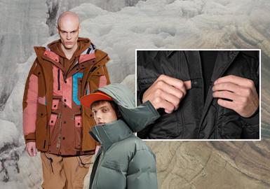 新冬態度--男裝棉羽絨工藝趨勢
